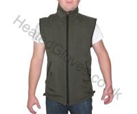 heated-soft-shell-vest-green-front